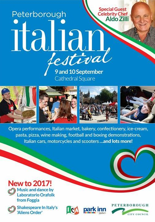 italian festival peterborough plakat 2017