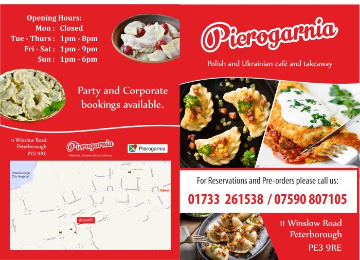 pierogarnia peterborough menu