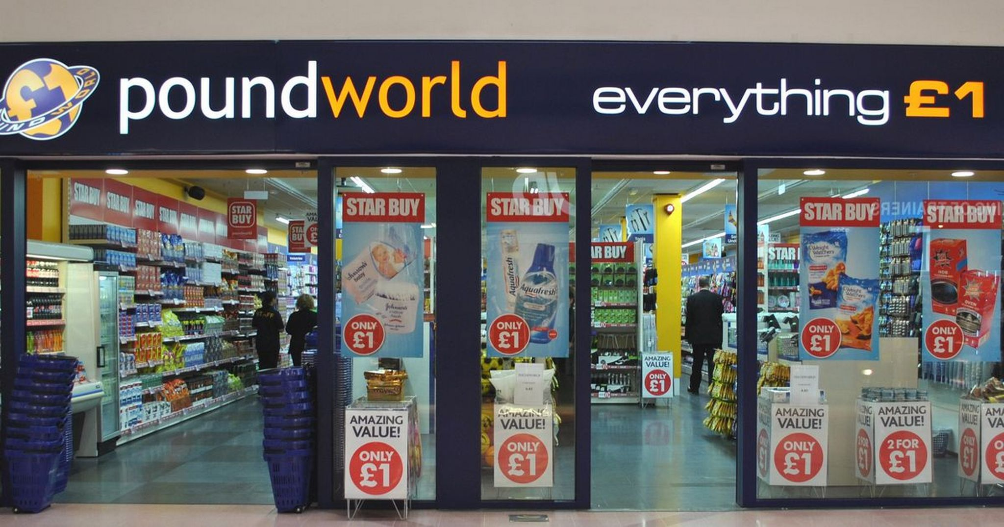 Widmo upadku nad Poundworld