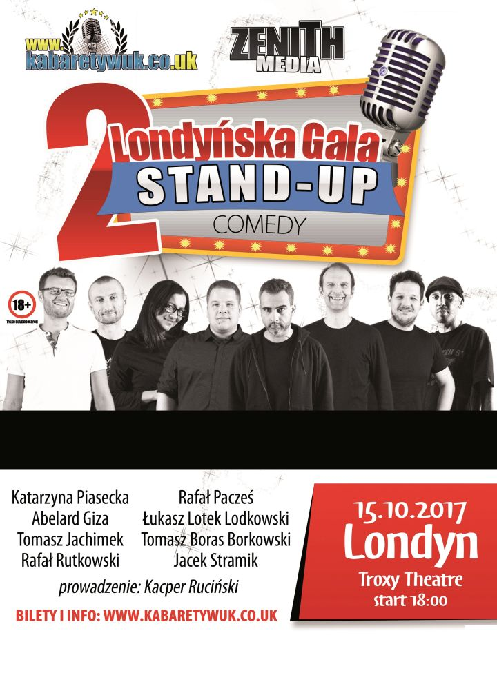 stand up londyn 2017
