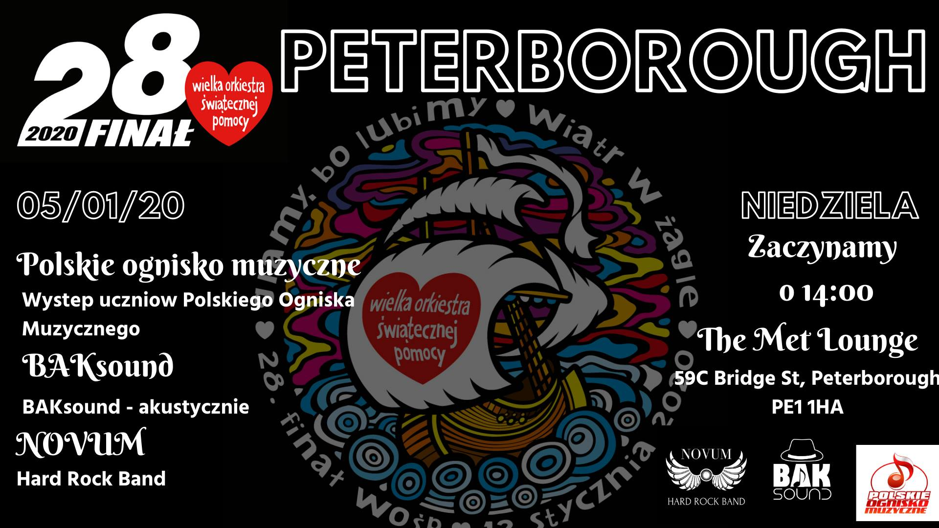wosp 2020 peterborough 1 plakat